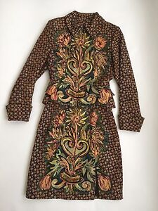 90-039-s-Christian-Lacroix-Couture-Paris-Fitted-Skirt-Jacket-Suit-Set-Floral-Bouquet