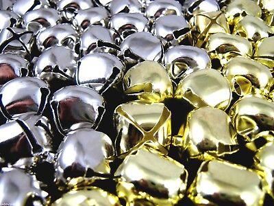 10mm Gold oder Silber Katze Glocken 15mm 20mm Annähen 12mm
