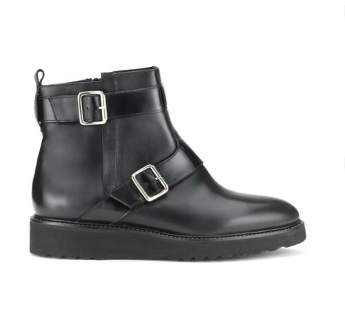 Monk New 6 Sifflets Botte Noir Aira Box Biker Taille In Chaussures 5n85wtTEx