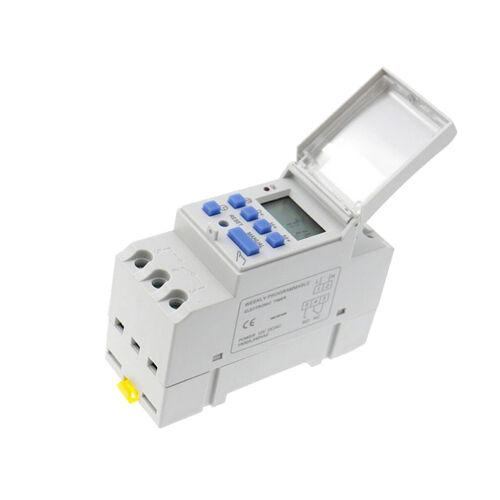Digitale LCD Zeitschaltuhr Programmierbare Leistung Elektronische Timer AC 220V