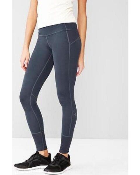 cef42633694a2 NWT Womens Size Large GAP FIT Studio Legging Indigo bluee T-7 gFast ...