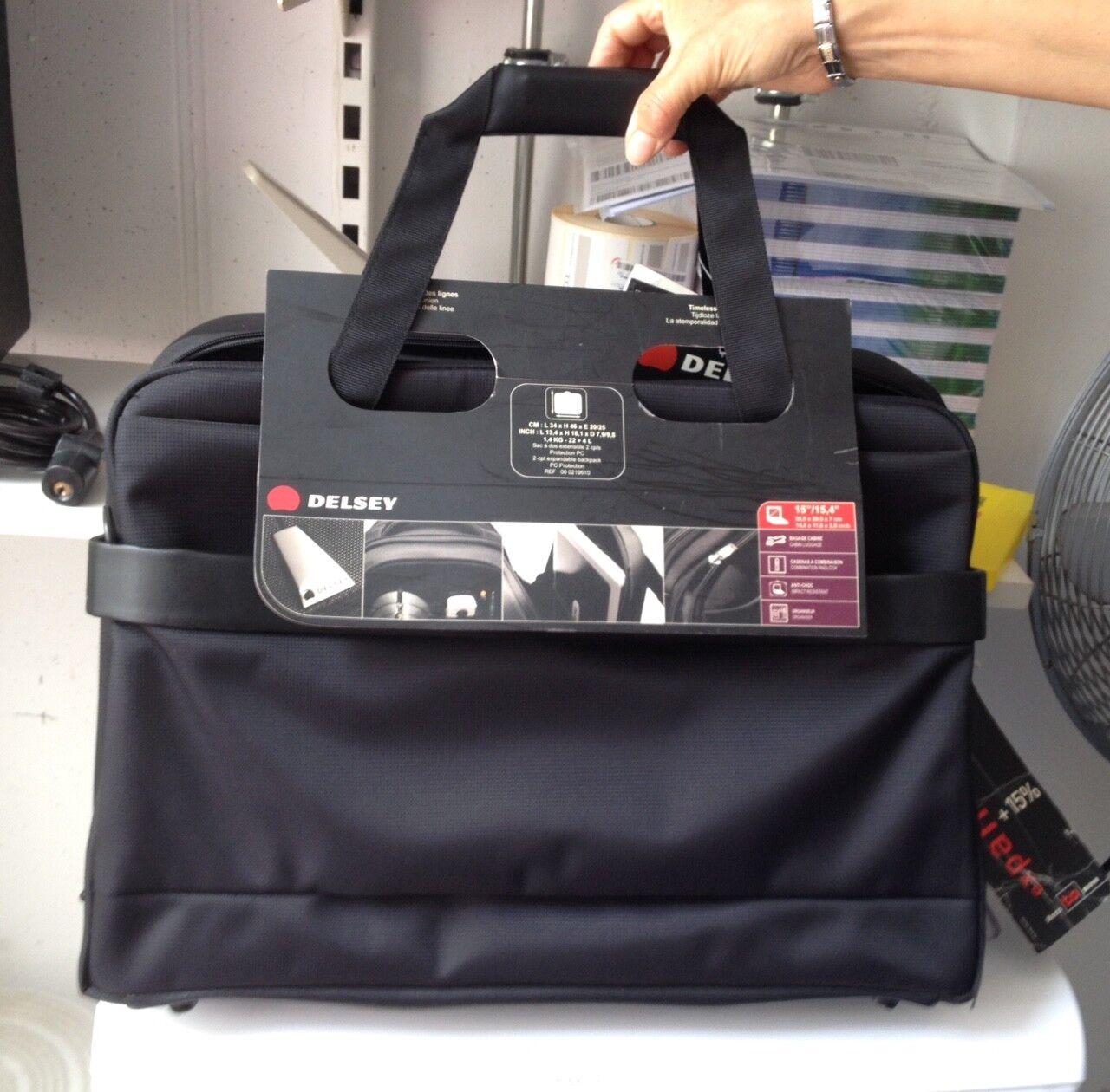 Aktentasche DELSEY VISIORIS Laptop-Tasche, umwandelbar, 18346 18346 18346 NO 2R   Ausgezeichnet (in) Qualität  3e954d