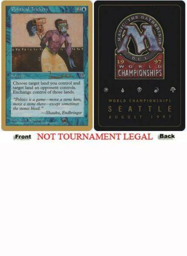 Political Trickery Sideboard - Janosch Kuehn - 1997 World Championship NM