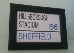 Sheffield Wednesday   Football Club  Framed Stadium Street Sign  6034 x 4034 - Bromley, United Kingdom - Sheffield Wednesday   Football Club  Framed Stadium Street Sign  6034 x 4034 - Bromley, United Kingdom