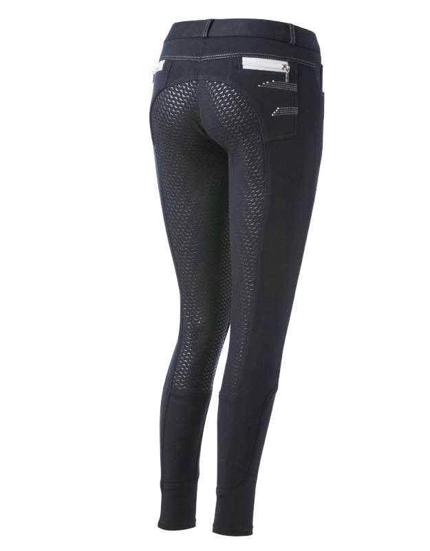 Da Donna Full Grip MONTALA Pantaloni Comete Coloreee Navy varie dimensioni