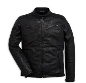 DUCATI-Dainese-SOUL-C2-Lederjacke-Leder-Jacke-Leather-Jacket-schwarz-NEU