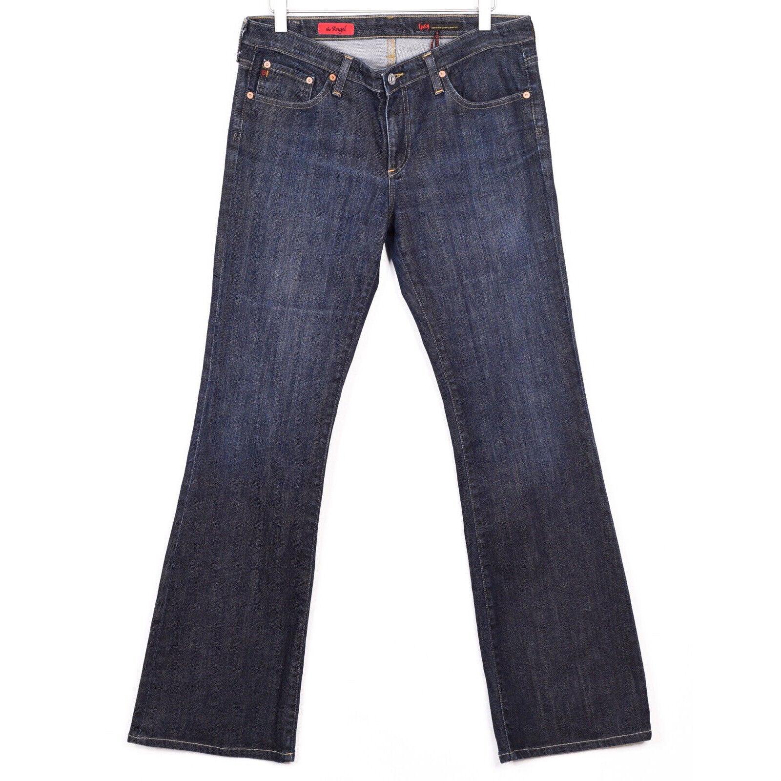 Adriano goldschmied Womens Size 31 bluee The Angel Denim Jeans Dark Wash EUC