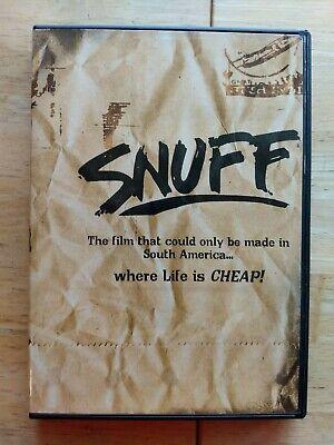 Oxidar Observación Continuo  Snuff - DVD - Michael Findlay - Horacio Fredriksson - Simon Nuchtern -  Horror 827058102391 | eBay