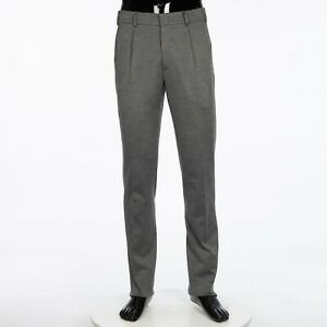 LORO-PIANA-1025-City-One-Trouser-In-Iron-Shades-Cotton-Silk-Virgin-Wool