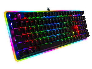 Rosewill RGB Mechanical Gaming Keyboard, Kailh Brown Switches, NEON K81 RGB BR