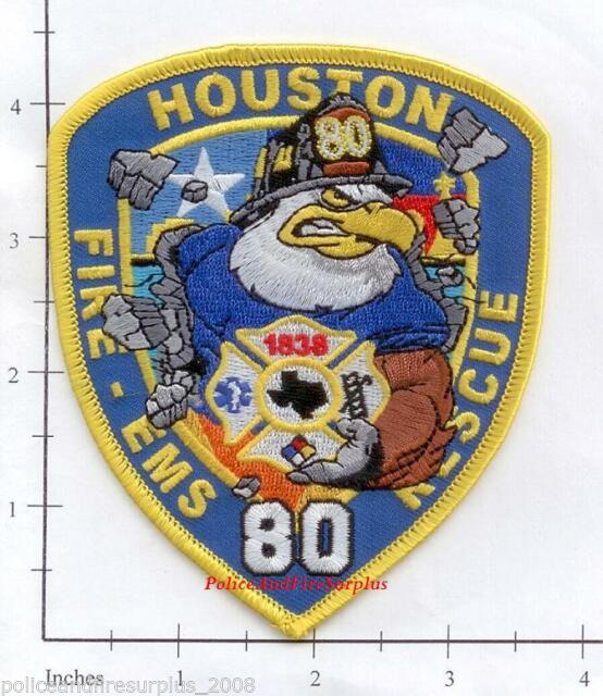 Houston Fire Department Station 2 Patch Texas TX v2