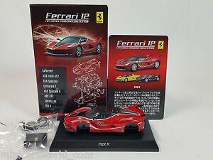 1-64-Kyosho-Ferrari-Minicar-Collection-12-FXX-K-FXXK-2015-2016-Red-10-NEW