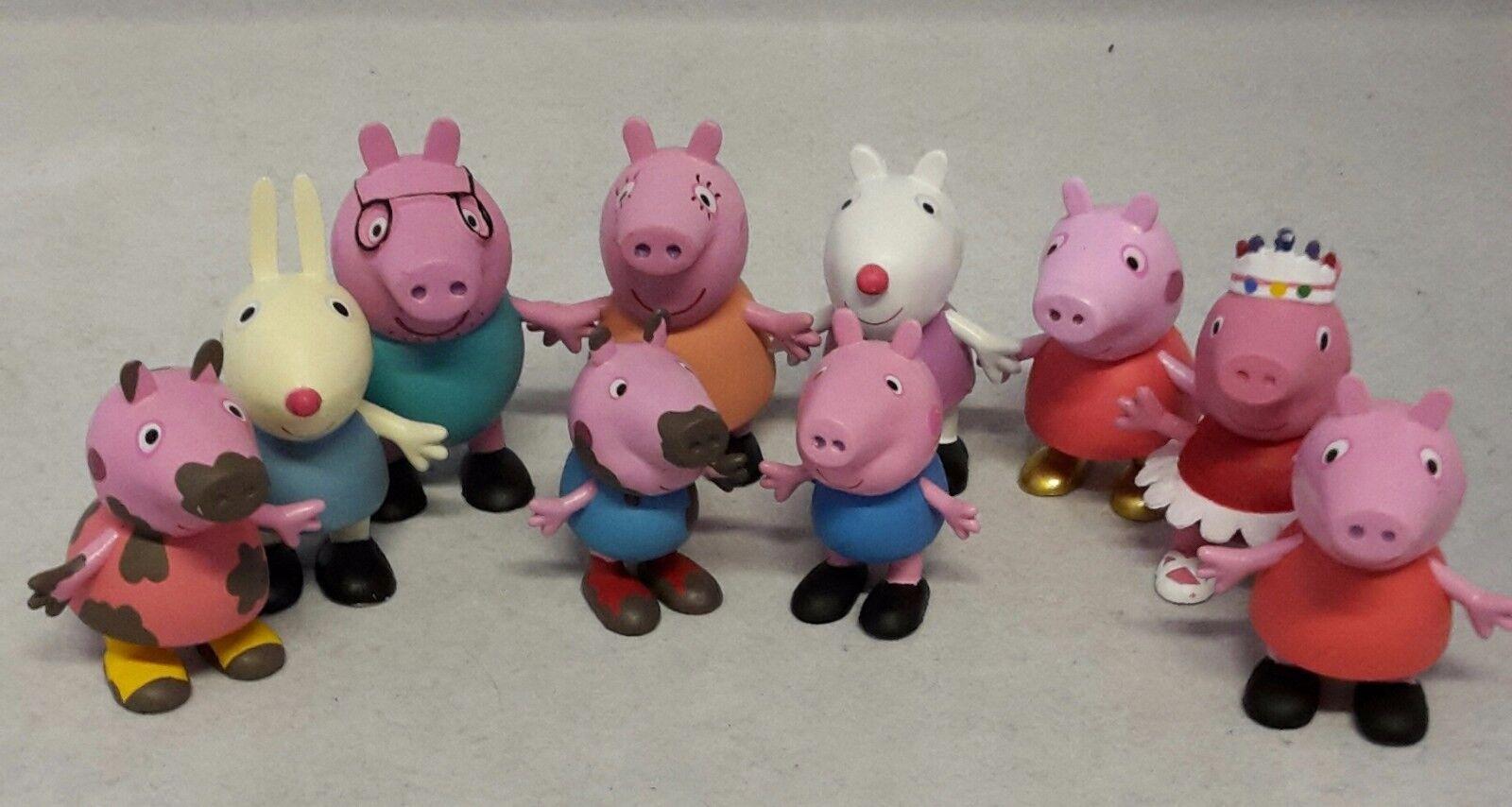 Comansi Spiel / Sammel Figuren Y99690 - Peppa Pig - Set (10 Figuren)