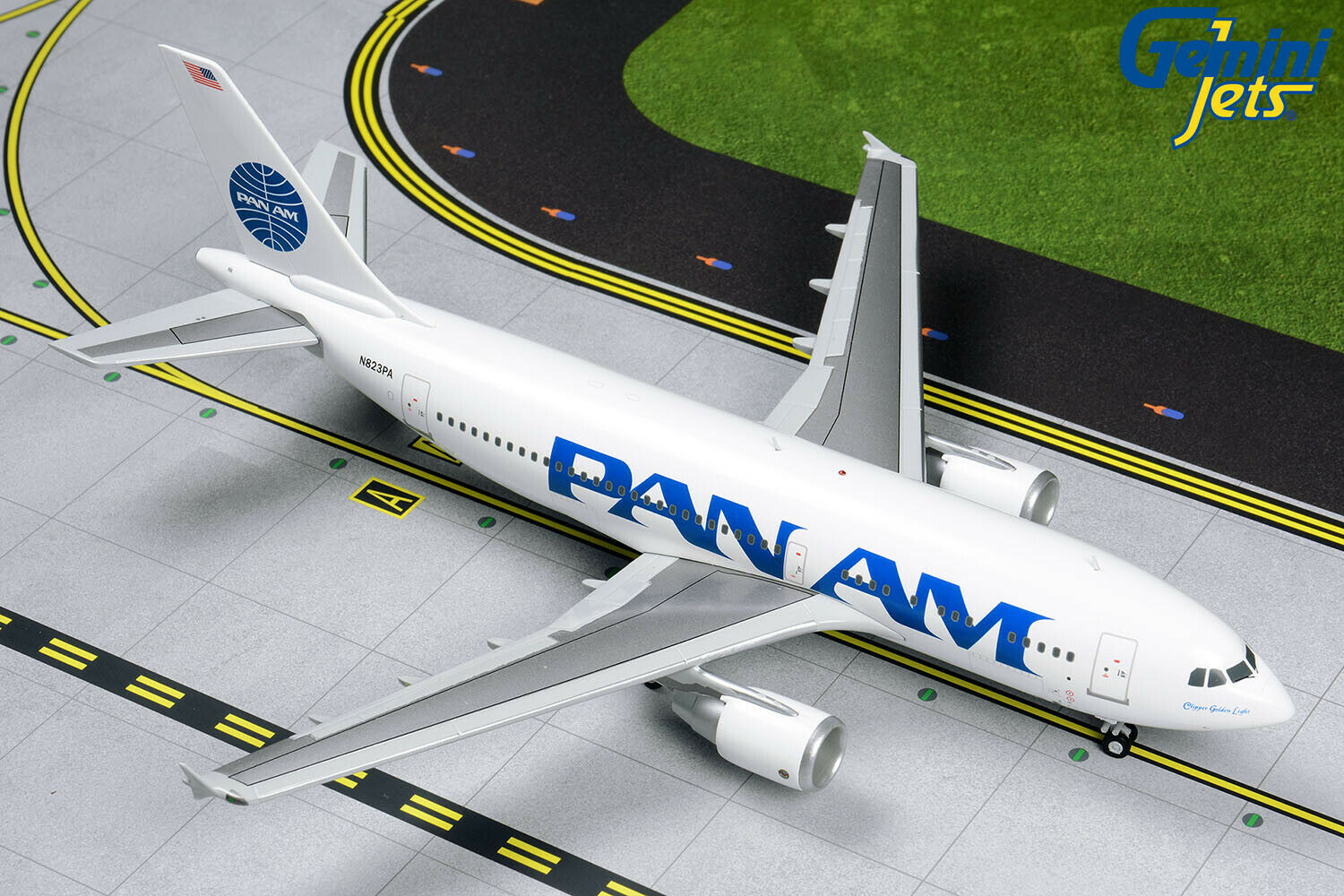 Pan Am Airbus A310-300 N823PA Gemini Jets G2PAA859 Scale 1 200 PRE-ORDER