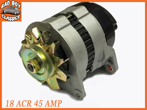 Pulley /& Fan Fits FORD PINTO Complete 18ACR 45 Amp Alternator