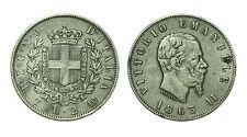 pcc1639_2) Regno Vittorio Emanuele II - 2 lira stemma 1863 Torino