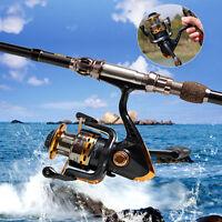 Hot Spinning Fishing Reel 13+1bb 5.5:1 Saltwater Freshwater Bait Fishing Reels