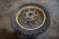 C1-1 HONDA CR125R REAR WHEEL RIM TIRE 18 INCH CR 125 R DIRT BIKE FREE SHIPPING