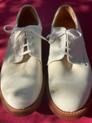 Men's Church's White bucks shoes excellent conditi