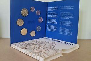 Coffret BU Euros Portugal 2020 - 8 pièces 1 centime à 2 Euros