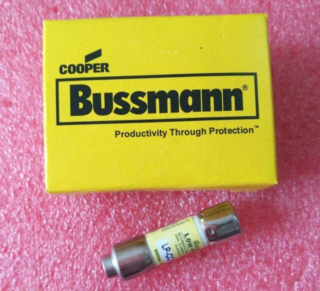 2.5 Amp ORIGINAL Bussmann LP-CC-2-1//2 LPCC 2-1//2 600Vac TIME-DELAY Fuse