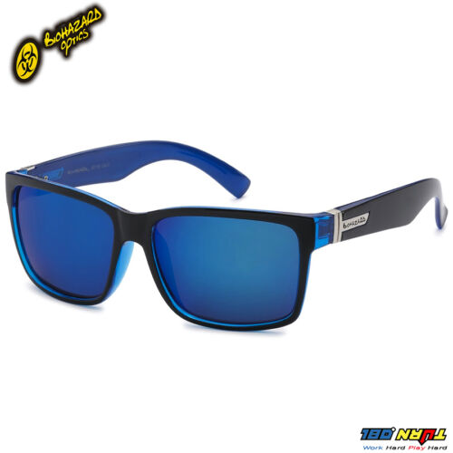 NWT Biohazard Square Mirror Lens Men Women Retro Fashion Sunglasses 8Bz66159