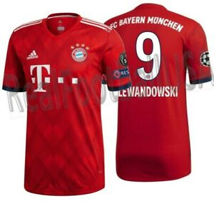 28a16a29205 Image is loading ADIDAS-ROBERT-LEWANDOWSKI-BAYERN-MUNICH -AUTHENTIC-MATCH-UCL-