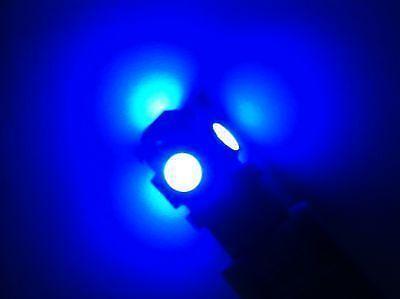 coffre 2x AMPOULES LED POUR VOITURE T10 W5W BLEU X2 plafonnier veilleuse