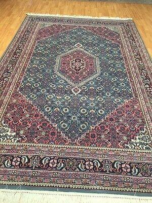 6' x 9' Indian Persian Bijar Design - Hand Made - 100% Wool - 20 Years Old