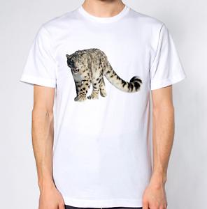 e2e75dbf1a0e Image is loading Snow-Leopard-T-Shirt