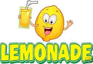lemonade concession decal 24 restaurant food truck vinyl sign menu