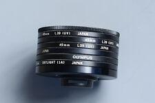 Olympus OM-System: 49mm UV Filter - L39(UV)