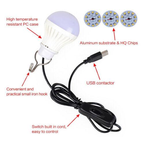 KF/_ USB bulb 5V low-voltage light led energy-saving rechargeable emergen US/_ FA