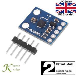 GY-273-HMC5883L-Genuino-L883-3-Axis-Brujula-Magnetometro-Modulo-Arduino-soldado