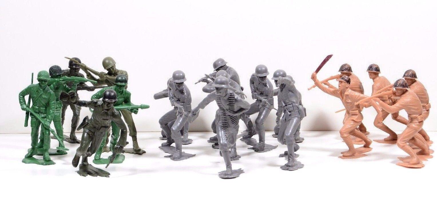 bienvenido a orden Lote Lote Lote de 19 Vintage Década de 1960 5 alto Ejército Hombre Ee. UU., Alemania & De japonés-soldados De Juguete  comprar descuentos