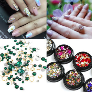 Nail-Art-Glitter-Mix-Glass-Rhinestone-Crystal-Alloy-Manicure-Decoration-1-Box