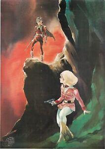 Original-Mobile-Suit-Gundam-Vintage-Anime-Poster