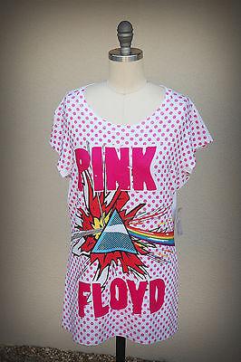 NWD PINK FLOYD Size XL Junior Soft Tunic Pop Art Modern Dark Side Of The Moon