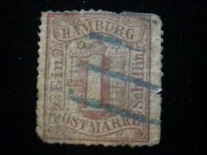 Altdeutschland-Hamburg-ab-1859-Wertangabe-im-Hamburger-Wappen-1-Schilling