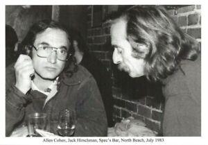 JACK-HIRSCHMAN-ALLEN-COHEN-SF-ORACLE-JULY-1983-BEAT-WRITERS-PHOTO-POSTCARD-5