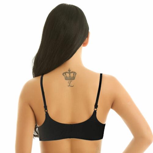 Womens Lace 1//4 Cups Push Up Underwire Bra Lingerie Underwear Bralette Lingeries