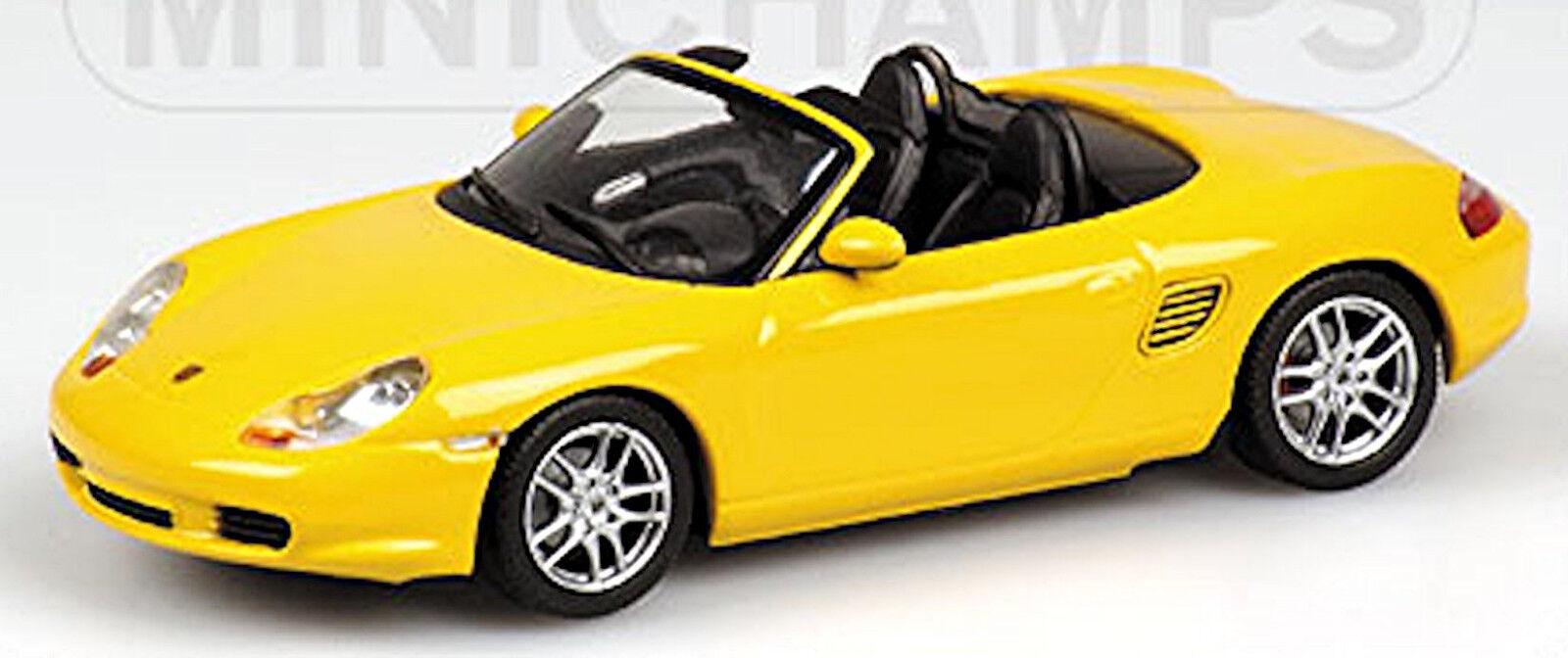 Porsche Boxster S Tipo  986-1996-2004 Speedyellow yellow 1 43 Minichamps