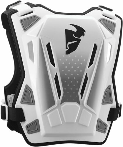 White//Black THOR MX Motocross GUARDIAN MX Chest//Roost Guard XL-2X