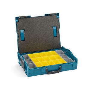 L-Boxx-102-Sortimentskoffer-Schraubenkoffer-gruen-mit-Einlage-Einsatz-Insetbox-B3