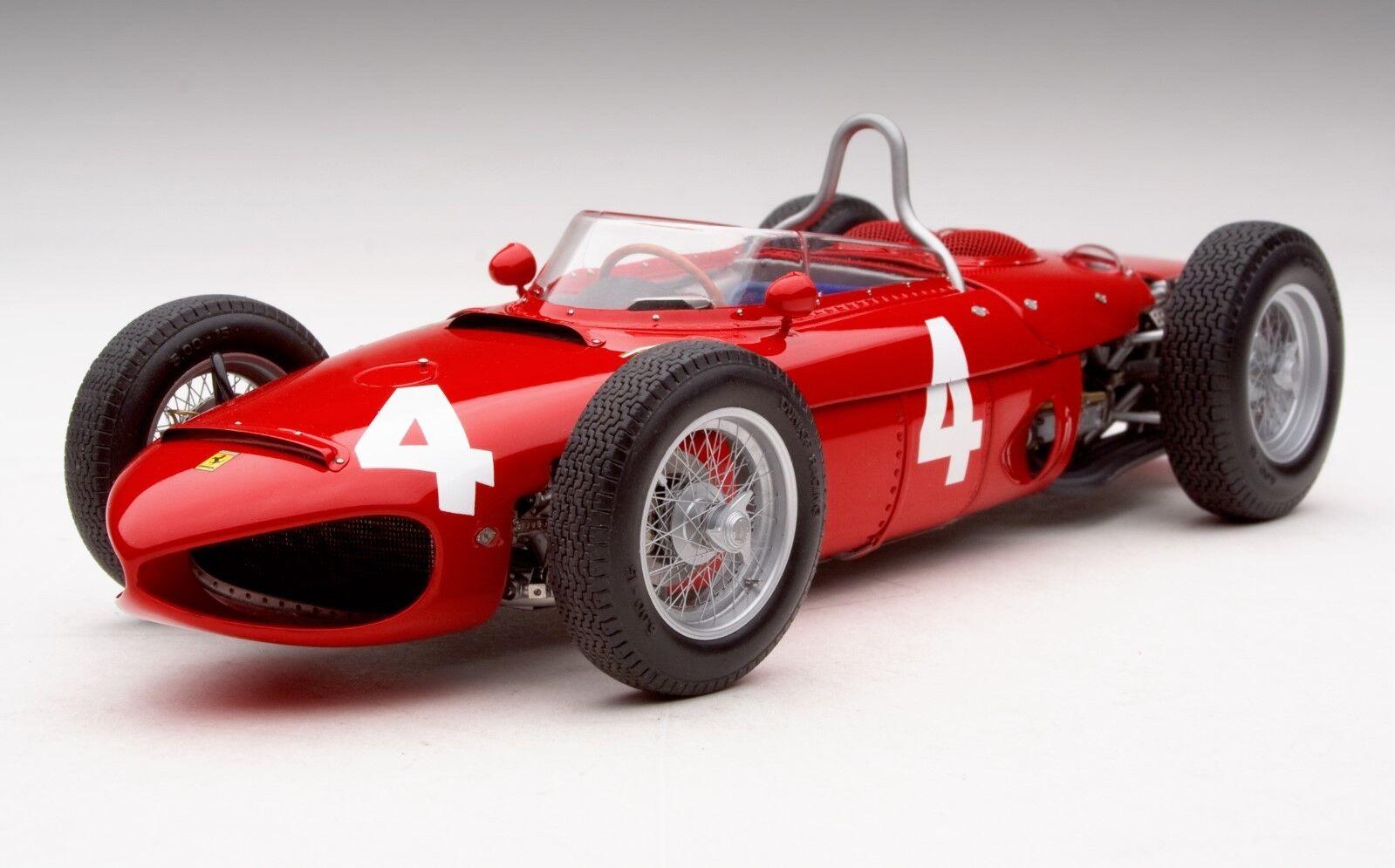 Exoto XS '61 Ferrari Dino 156 120   Fatal Accident At Monza   Von Trips   1 18