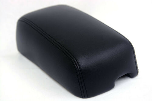 Fits 97-02 Mitsubishi Mirage Faux Leather Armrest Center Console Cover Black