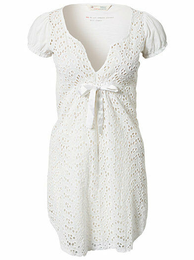 New Odd Molly All In Weiß Summer Dress Cover-Up 1 (small) and 2 (medium)