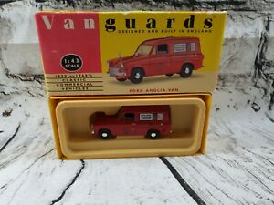 Vanguards-1-43-VA4000-Ford-Anglia-Van-Royal-Mail-En-Caja