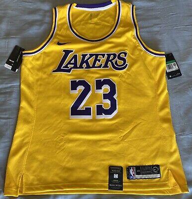 Nike LA Lakers Womens Swingman Lebron James Jersey. Womens Size ...