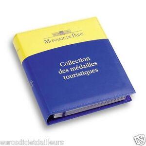Album-Classeur-Collection-des-Medailles-Touristiques-LEUCHTTURM-Livre-neuf